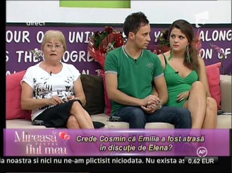 Emilia, mustrata de Cosmin pentru comentariile facute la adresa celor din tabara adversa!