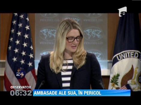 Mai multe ambasade SUA, inchise din motive de securitate