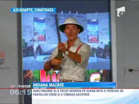 Radu Mazare s-a transformat in Indiana Jones, intr-o tinuta creata de Catalin Botezatu