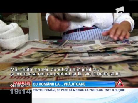Studiu: Romanii prefera sa scape de probleme cu ajutorul vrajitoarelor
