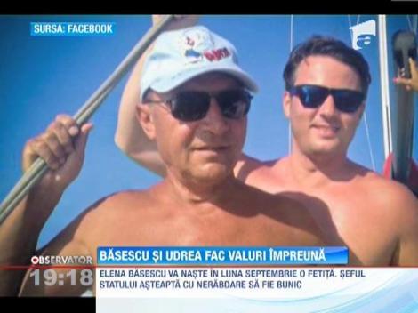 Traian Basescu si Elena Udrea ar fi fost pe aceeasi ambarcatiune, la mare