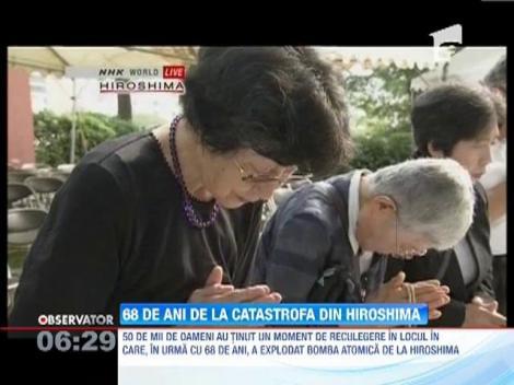 68 de ani de la detonarea bombei atomice la Hiroshima