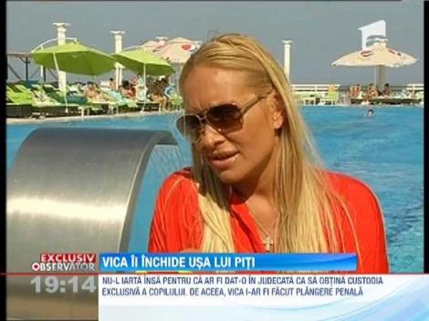 Vica Blochina i-a facut plangere penala lui Victor Piturca, pentru abandon
