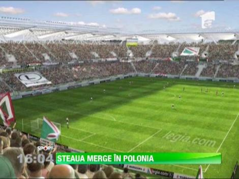 Steaua vs Legia Varsovia, in play-off-ul Ligii Campionilor!