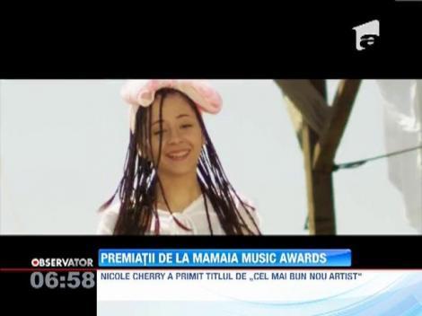 Mamaia Music Awards, eveniment cu staif la malul marii. Nicole Cherry, Directia 5 si Marcel Pavel, printre castigatori