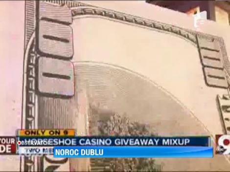 Un cazino din orasul american Cincinnati a platit scump greseala de a fi inmanat un premiu persoanei gresite