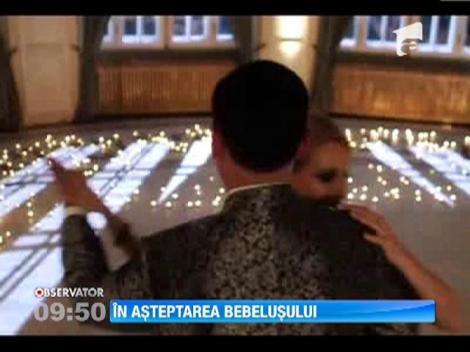 Alina Sorescu si Alexandru Ciucu asteapta cu nerabdare venirea pe lume a primului lor copil
