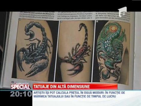 Arta tatuajelor 3D