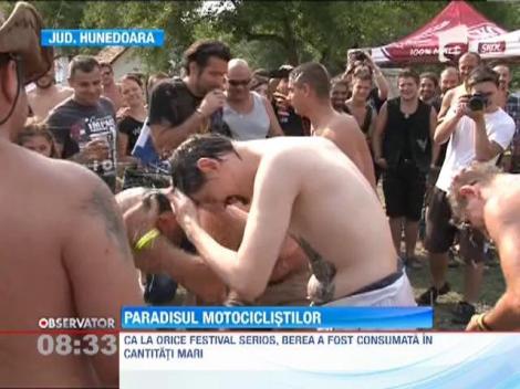1500 de motociclisti si-au dat intalnire la Festivalul ''Free Bikers Week'', de la Deva