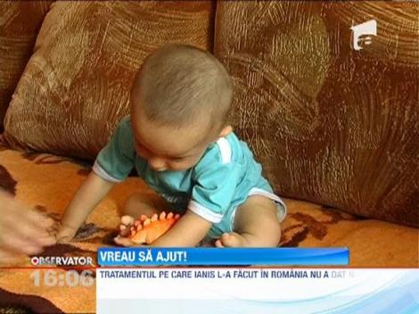 Update / Vreau sa ajut! Ianis Gabriel s-a nascut cu o malformatie congenitala grava
