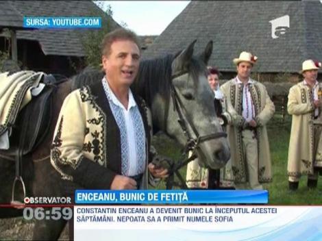 Constantin Enceanu a devenit bunic