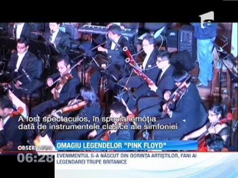 Spectacol omagial Pink Floyd, realizat de Orchestra Nationala din Bolivia