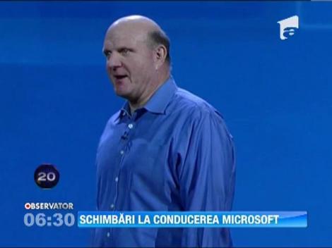 Schimbari la conducerea Microsoft