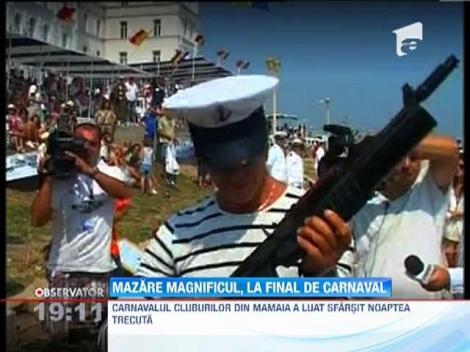 UPDATE / Radu Mazare, Suleyman Magnificul in ultima noapte de carnaval de la Mamaia