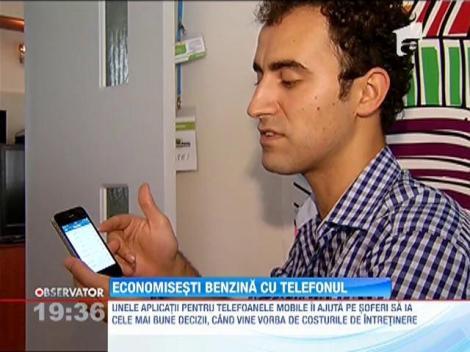 Smartphone-urile te ajuta sa faci economie la combustibil