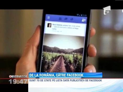 Romania a solicitat Facebook-ului informatii confidentiale despre anumiti utilizatori