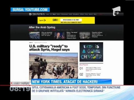 New York Times, din nou victima hackerilor