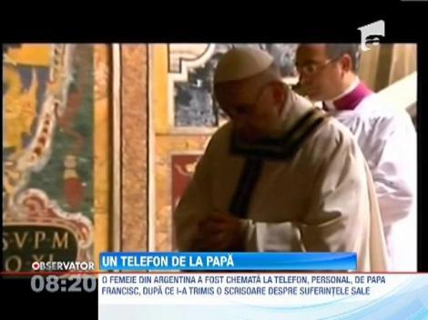 Papa Francisc, aproape de fostii sai enoriasi din Argentina