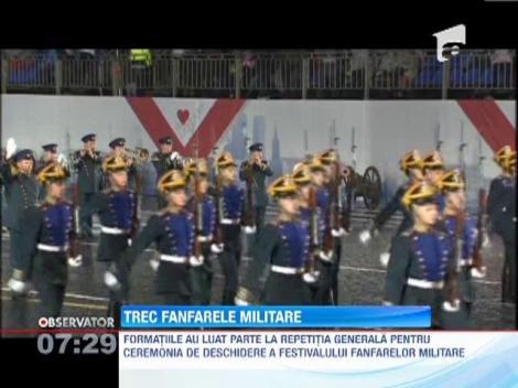 Repetitii inaite de Festivalul Muzicilor Militare