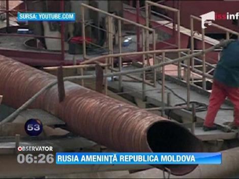 Rusia ameninta Republica Moldova