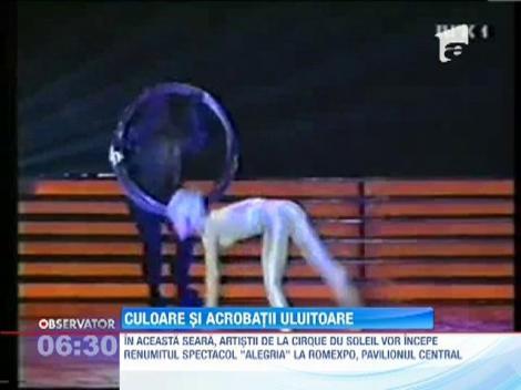 Cirque du Soleil, din nou in Romania
