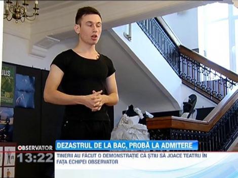 Au inceput inscrierile la Universitatea nationala de arta teatrala din Bucuresti