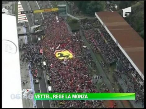 Sebastian Vettel s-a impus in cursa de Formula 1 de la Monza