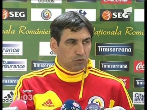 Victor Piturca face doua modificari in Nationala Romaniei pentru meciul cu Turcia