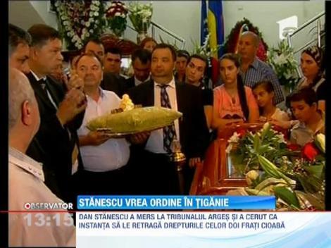 Dan Stanescu, regele romilor crestini, vrea ordine in tiganie