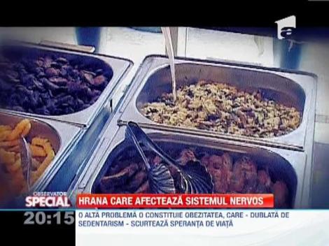 Hrana care afecteaza sistemul nervos