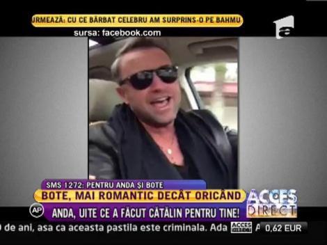 Catalin Botezatu canta piesa Andei Adam la volan!
