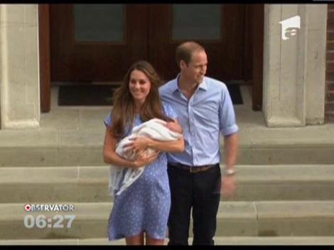 Sarbatoare la Palat! Micul print al Casei Regale Britanice va fi botezat pe 23 octombrie