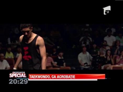Taekwondo, auto-apararea cu exercitiile de gimnastica!