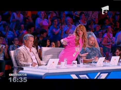 Tatal si fiul s-au intalnit la X Factor