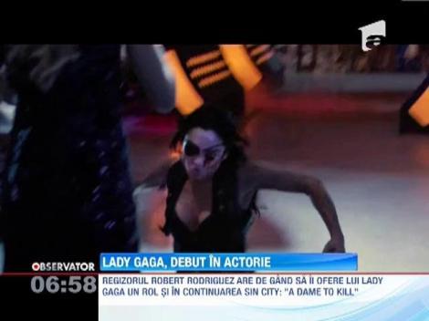 """Lady Gaga, o criminala provocatoare in trilogia """"Machete"""""""