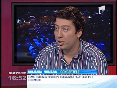 Demis Roussos revine pe scena Salii Palatului pe 5 decembrie