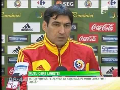 Victor Piturca a renuntat la Mutu