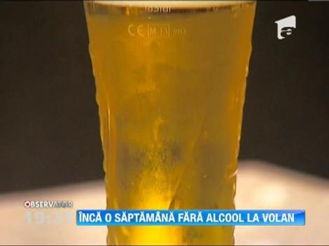 Inca o saptamana fara alcool la volan! Guvernul a amanat aprobarea noului cod rutier