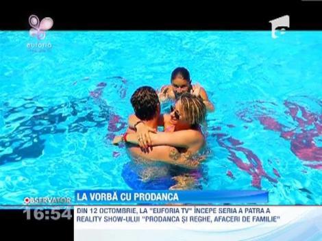 """Din 12 octombrie, la """"Euforia TV"""" incepe seria a patra a show-ului """" Prodanca si Reghe, afaceri de familie"""""""