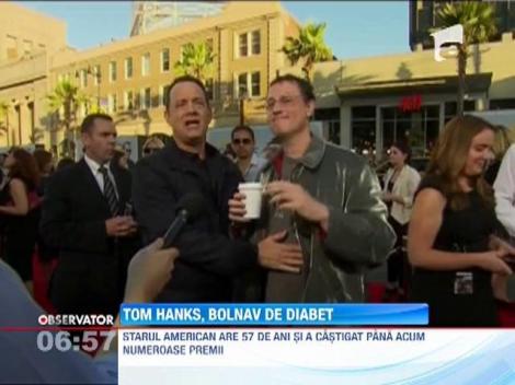 Tom Hanks, bolnav de diabet de tip 2
