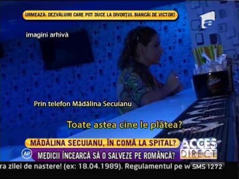 Madalina Secuianu s-ar afla in coma, intr-un spital din Italia!