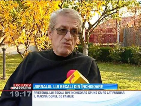 """EXCLUSIV! Gigi Becali isi scrie memoriile, in inchisoare: """"Asterne si cate cinci pagini pe noapte"""""""