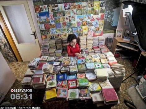 O femeie din Slovacia a colectionat peste 62.000 de servetele de masa