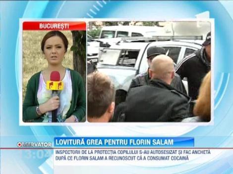 Inspectorii de la Protectia Copilului fac ancheta dupa ce Florin Salam a recunoscut ca a consumat cocaina
