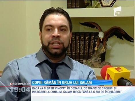 Florin Salam a reusit sa-i conving pe inspectorii de la Protectia Copilului ca este un tata bun