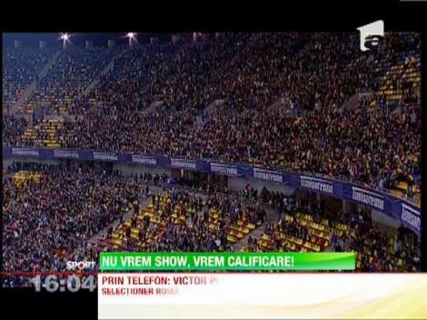 "Victor Piturca, despre strategia din baraj: ""Vom fi pragmatici, nu ma intereseaza spectacolul"""