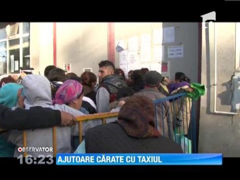 Ajutoare de la Uniunea Europeana carate cu taxiul