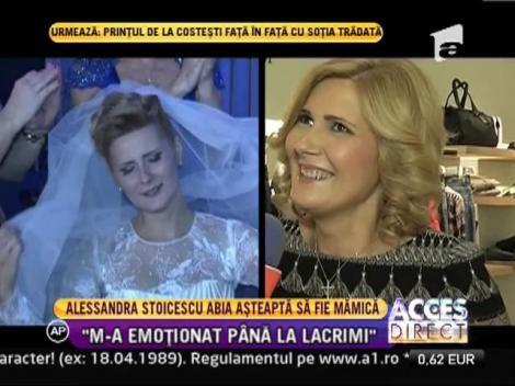 Alessandra Stoicescu abia asteapta sa fie mamica