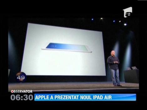 Apple a lansat o noua versiune a tabletei sale iPad