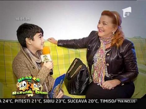 """Tabara lui Omar: Castigatorul """"Next Star"""" a intervievat-o pe Maria Carneci"""